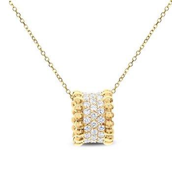 DIAMOND RONDELL PENDANT