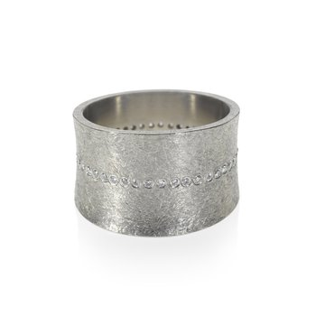 TODD REED WIDE DIAMOND ETERNITY BAND