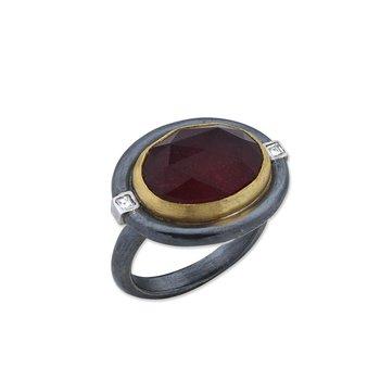 LIKA BEHAR RUBY AND DIAMOND RING