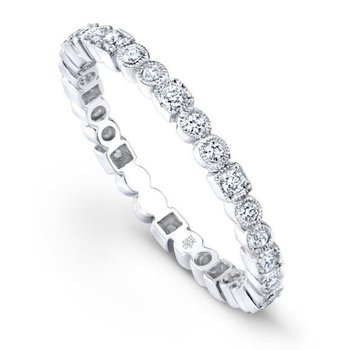 BEZEL SET DIAMOND ETERNITY RING
