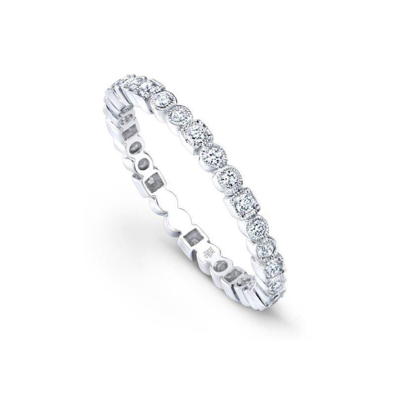 Beverley K BEZEL SET DIAMOND ETERNITY RING