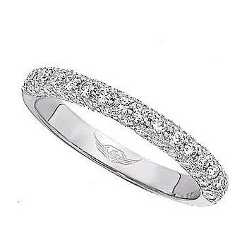 PAVE DIAMOND WEDDING BAND