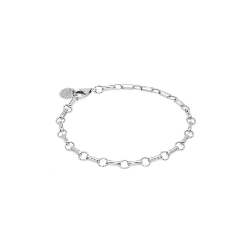 Anna Beck Bar & Ring Chain Bracelet - Silver