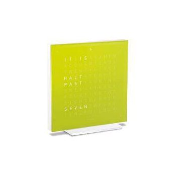 QLOCKTWO Touch Table Alarm Clock Front Cover  - Lime Juice