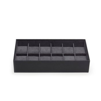 STACKABLE 12 PIECE WATCH TRAY