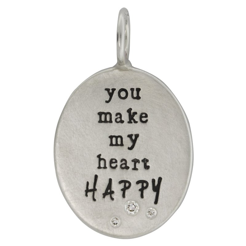 Heather B. Moore HEATHER B. MOORE - YOU MAKE MY HEART HAPPY CHARM