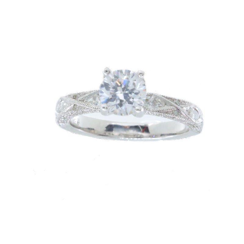 Beverley K DIAMOND SOLITAIRE ENGAGEMENT RING