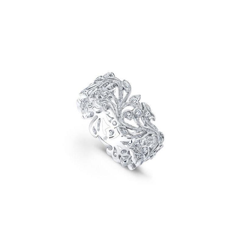 Beverley K DIAMOND FLORAL RING
