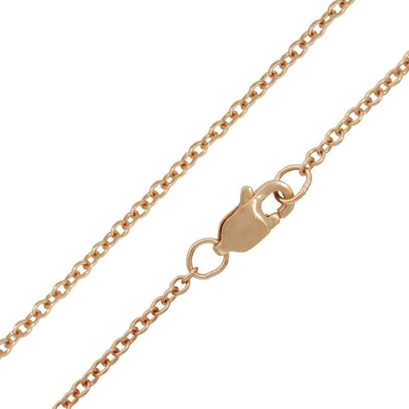 """Heather B. Moore 1.5mm 14K rose gold cable chain 16"""""""