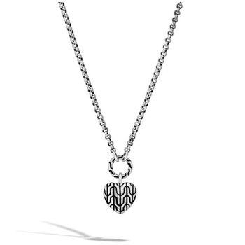 Classic Chain Heart Pendant Necklace