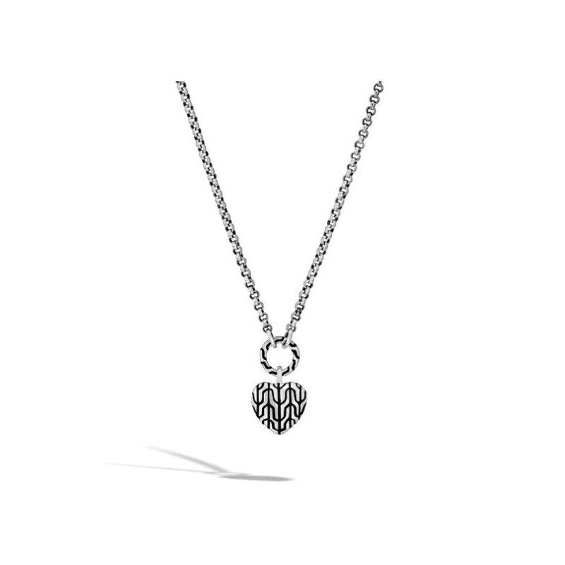 JOHN HARDY Classic Chain Heart Pendant Necklace
