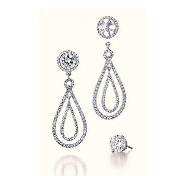 Wear with your favorite stud earrings.