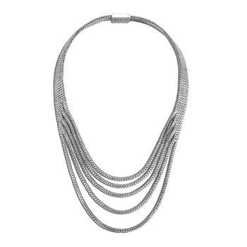 Rata Chain Multi Row Necklace