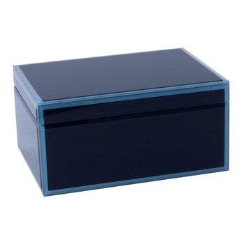 Jewelry Box - Blue Glass