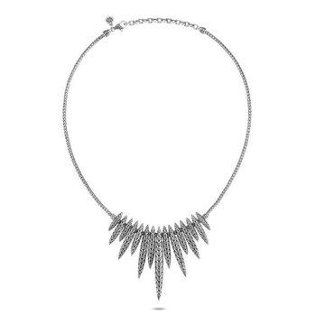 Classic Chain Spear Bib Necklace