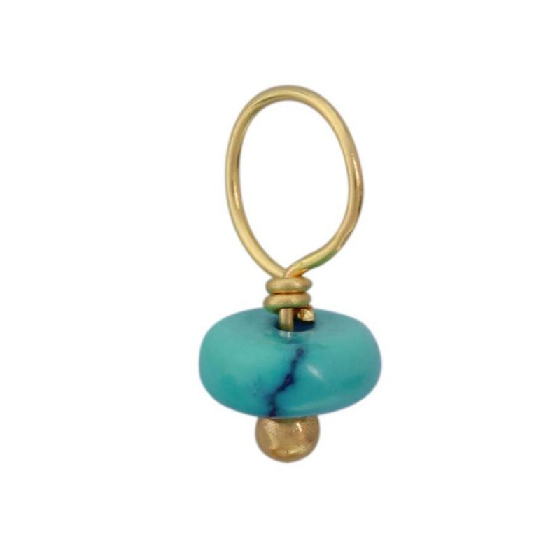 Heather B. Moore HEATHER B. MOORE - TURQUOISE RONDELLE ACCENT