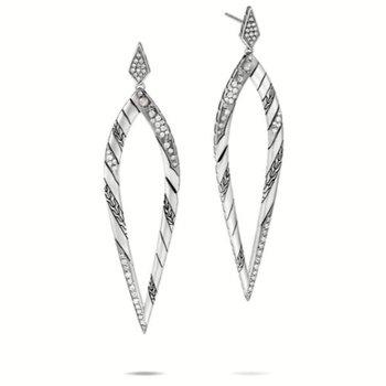 Lahar Marquis Drop Earring
