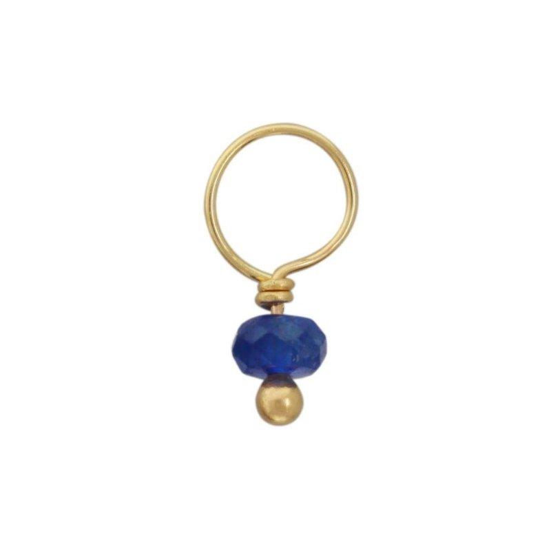 Heather B. Moore HEATHER B. MOORE - BLUE SAPPHIRE RONDELLE ACCENT