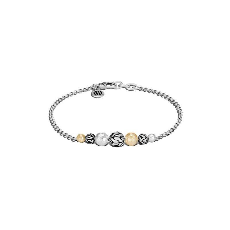 JOHN HARDY Classic Chain Station Hammered Bracelet