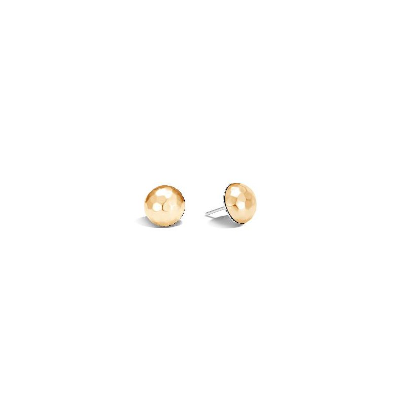 JOHN HARDY Classic Chain Hammered Stud Earrings