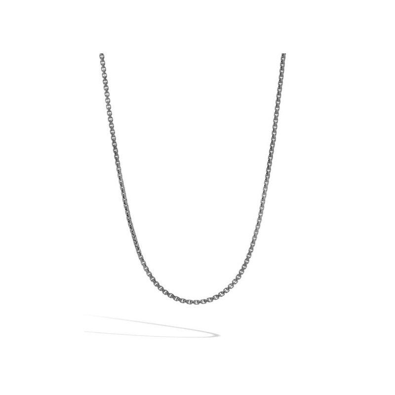 JOHN HARDY Box Chain Blackened Necklace
