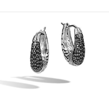 Classic Chain Hoop Earring