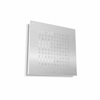 QLOCKTWO CLASSIC Wall Clock Base -White Body