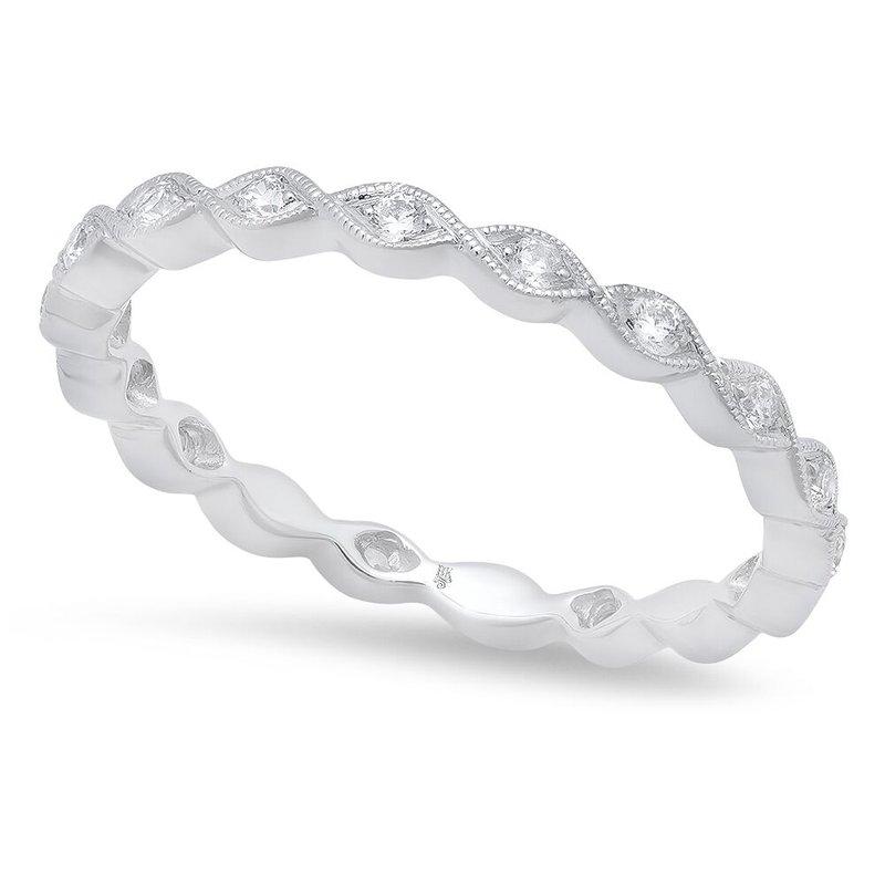 Beverley K WHITE GOLD DIAMOND ETERNITY RING
