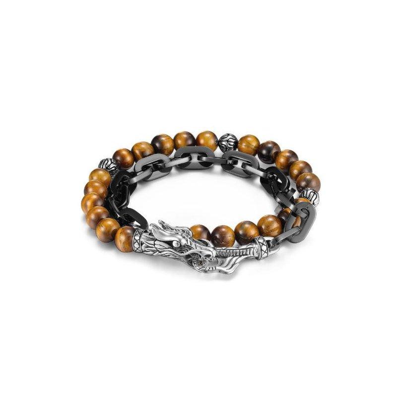 JOHN HARDY Naga Hybrid Wrap Bracelet