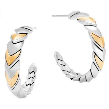 Legends Naga Hoop Earrings