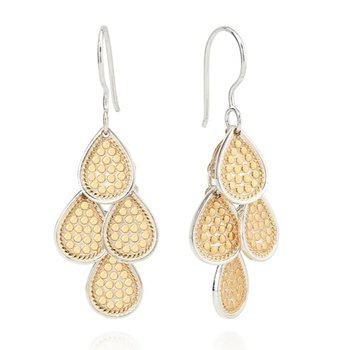 ANNA BECK CLASSIC CHANDELIER EARRINGS - GOLD