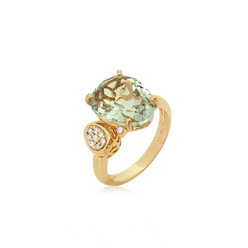 Vianna Brazil Praziiolite Ring