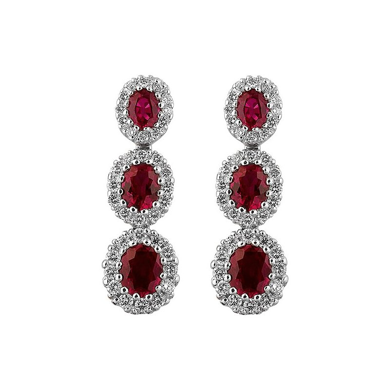 Spark Creations 1.08CT RUBY   0.33CT DIAMONDS