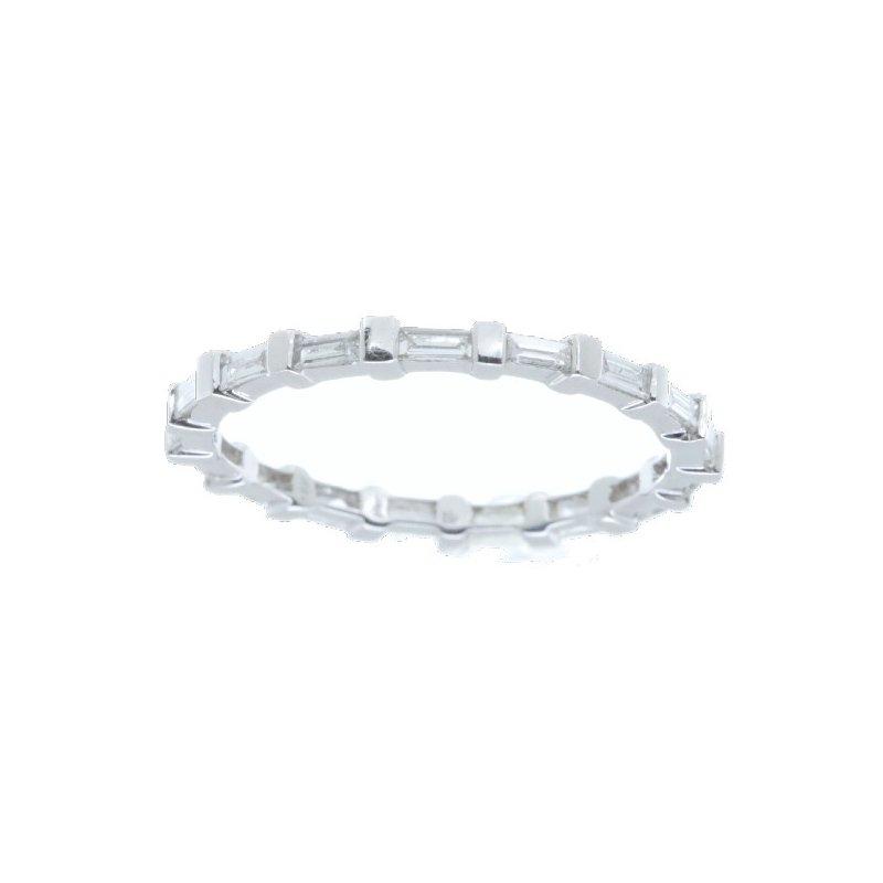 Beverley K BAGUETTE DIAMOND ETERNITY RING