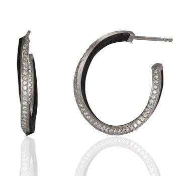 SARAH GRAHAM ECLIPSE DIAMOND EARRINGS