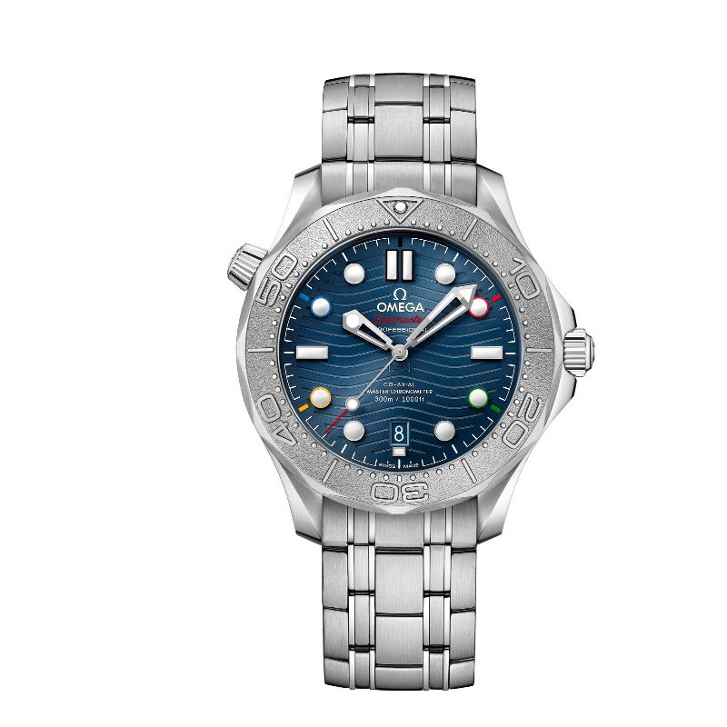 """Omega SEAMASTER DIVER 300M CO-AXIAL MASTER CHRONOMETER 42 MM """"BEIJING 2022"""""""