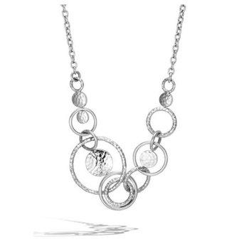 Hammered Multi Link Necklace