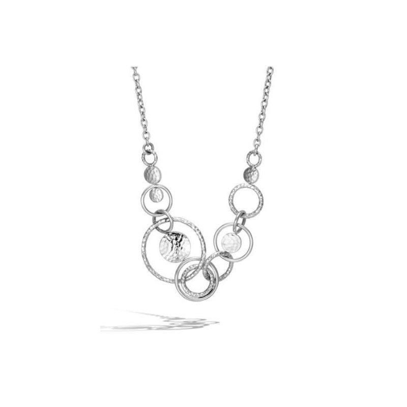 JOHN HARDY Hammered Multi Link Necklace