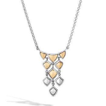 Naga Cascading Scales Necklace