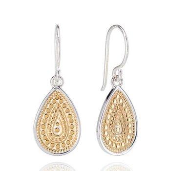 ANNA BECK CLASSIC TEARDROP EARRINGS - GOLD