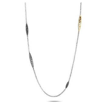 Classic Chain Spear Long Necklace