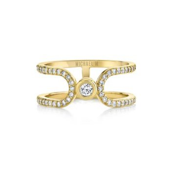 MICHAEL M PAVE ALIGNMENT RING