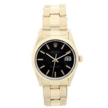 PRE-OWNED ROLEX OYSTER PERPETUAL DATE WATCH