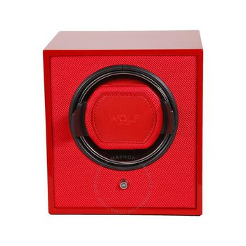 LACQUERED CUB WATCH WINDER - RED