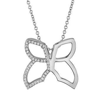 MICHAEL M BUTTERFLY NECKLACE