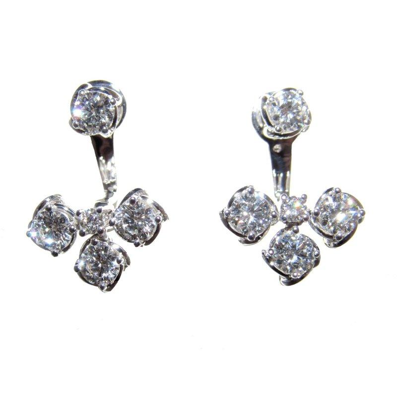 A. Link A.LINK TWO-PIECE DIAMOND EARRING JACKETS