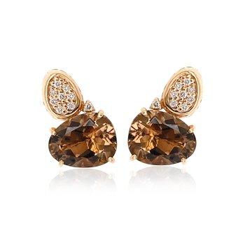 Vianna B.R.A.S.I.L. Smokey Quartz Earrings