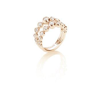 CASATO ROSE GOLD DIAMOND RING
