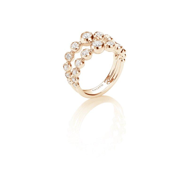 Casato CASATO ROSE GOLD DIAMOND RING