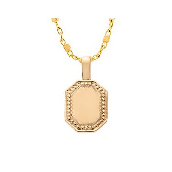 Sethi Couture P.S. Celeste Large Yellow Gold Tag Charm
